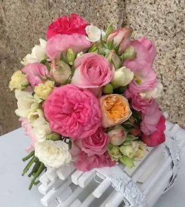 bouquet rosas inglesas